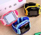 Умные детские часы Smart baby watch K22 Blue Android 6.0 4G видеочат GPS WiFi ip67, фото 2