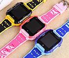 Умные детские часы Smart baby watch K22 Blue Android 6.0 4G видеочат GPS WiFi ip67, фото 3