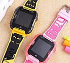 Умные детские часы Smart baby watch K22 Blue Android 6.0 4G видеочат GPS WiFi ip67, фото 4