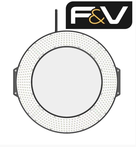 Кольцевой видео свет F&V Z720S UltraColor Bi-Color LED Ring Light (10903010)