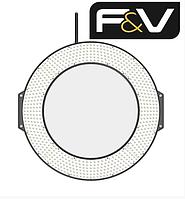 Кольцевой видео свет F&V Z720S UltraColor Bi-Color LED Ring Light (10903010), фото 1
