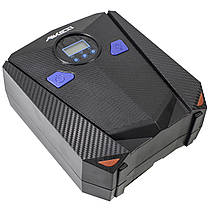 Автокомпрессор AIKESI AKS-5501 с LED дисплеем и набором для прокачивания шин от прикуривателя, фото 3