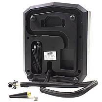 Автокомпрессор AIKESI AKS-5501 с LED дисплеем и набором для прокачивания шин от прикуривателя, фото 2
