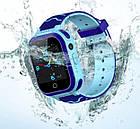Умные детские часы Smart baby watch T3 Blue Android 6.0 4G видеочат GPS WiFi ip67, фото 2