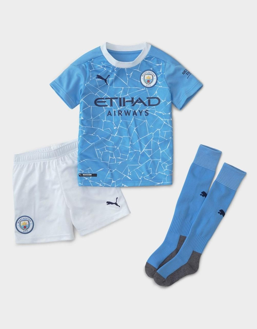 Футбольная форма Манчестер сити (комплект 2020-21)
