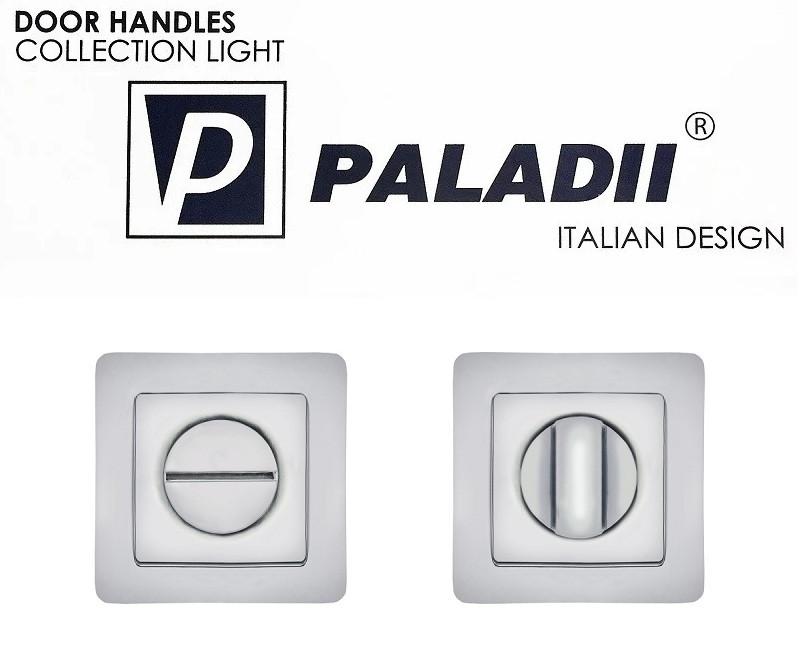PALADII поворотник WC квадратний CP хром