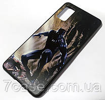 Чехол для Samsung Galaxy A41 A415F PET matte print Черная пантера