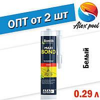 Bostik Maxi Bond - клей универсальный высокопрочный, белый, 0.29 л
