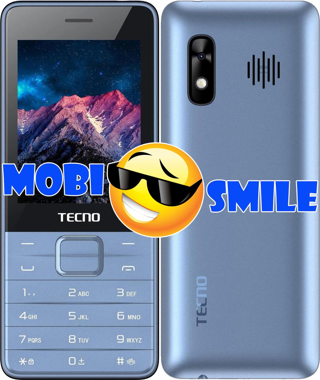 Мобильный телефон Tecno T454 Blue Гарантия 12 месяцев