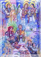 """Різдвяний набір листівок А. Охапкина """"Сяють весело Зірки"""""""