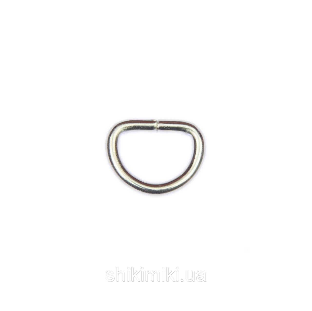 Полукольцо для сумки PK01-1 (20 мм), цвет никель