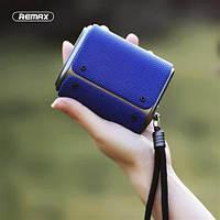 Портативная Bluetooth колонка Remax RB-M30 синяя