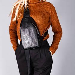 Женский кожаный черный небольшой рюкзак . Цвет любой