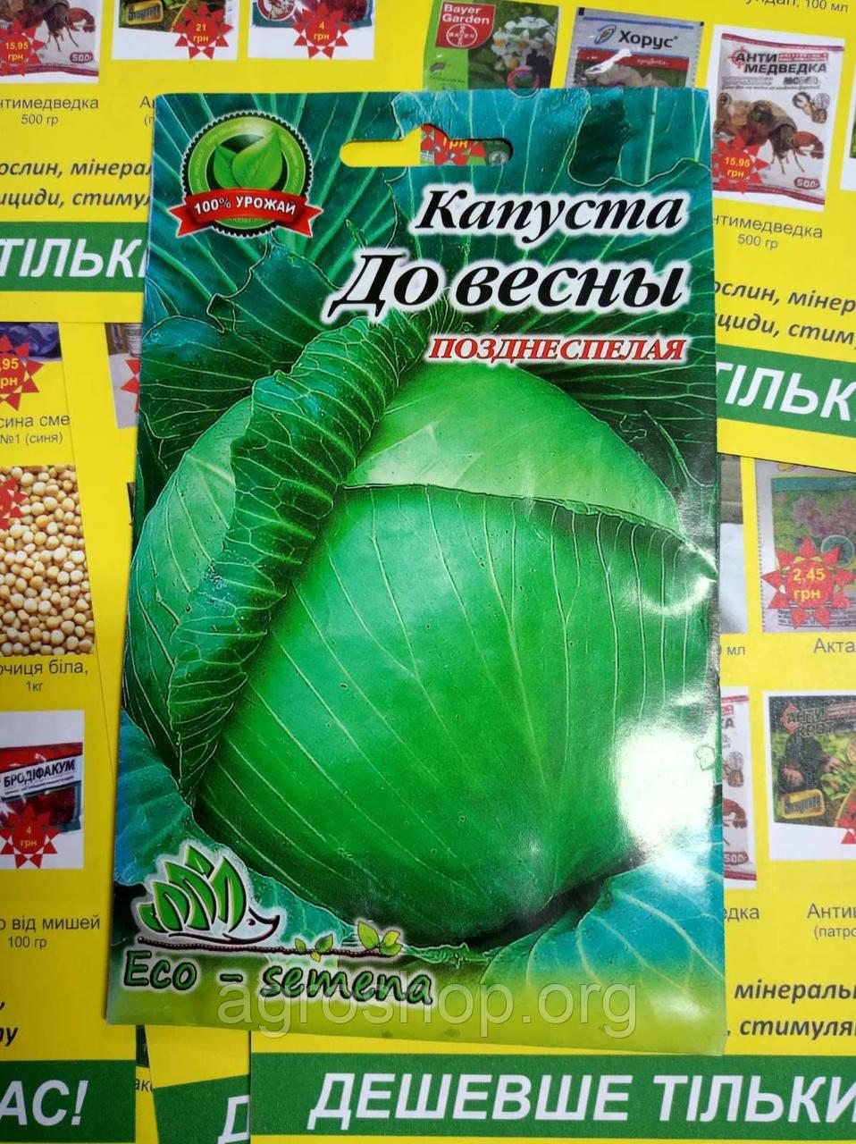 Семена Капуста До весны 5г