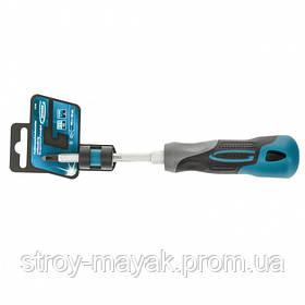 Отвертка крестовая PH2 x 100 мм, Gross S2, трехкомпонентная ручка, отвертка  Немецкое качество