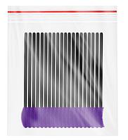 Innovator Cosmetics Щеточки для ресниц и бровей силиконовые, изогнутые, 10 шт, 10 шт