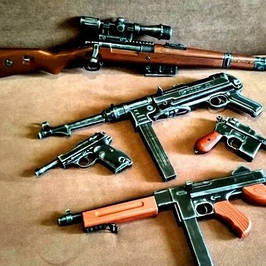 Макети бойової зброї ММГ