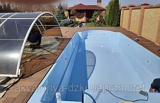 Переваги сучасних басейнів з композиційних матеріалів