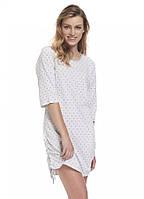 Сорочка нічна жіноча DOBRANOCKA 9330, розмір S (наш 44), 100 % бавовна