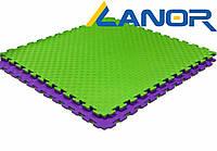 Мат-татами ласточкин хвост Lanor (80кг/м3) 100*100*2см