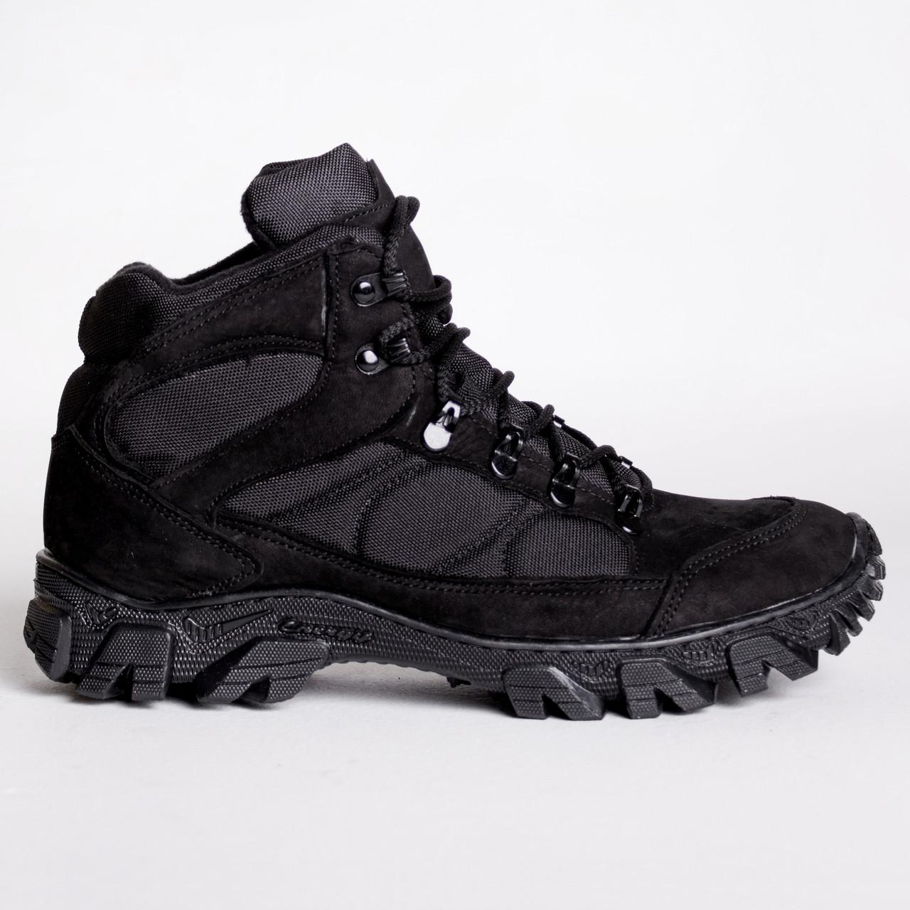 Ботинки Тактические, Зимние Торнадо Черные