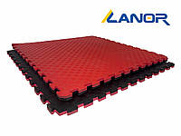 Мат-татами ласточкин хвост Lanor (80кг/м3) 100*100*2см, фото 1