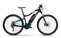 "Электровелосипед горный Haibike SDURO HardNine 5.0 500Wh 29"", рама M, черно-сине-белый, 2018"