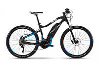 "Электровелосипед горный Haibike SDURO HardSeven 5.0 500Wh 27,5"", рама L, черно-сине-белый, 2018"