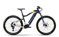"Электровелосипед горный Haibike SDURO HardSeven 7.0 500Wh 27,5"", рама L, синий-бело-желтый, 2018"