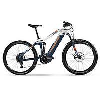 """Электровелосипед Haibike SDURO FullSeven 5.0 500Wh 27,5"""", рама M, сине-бело-оранжевый, 2019"""