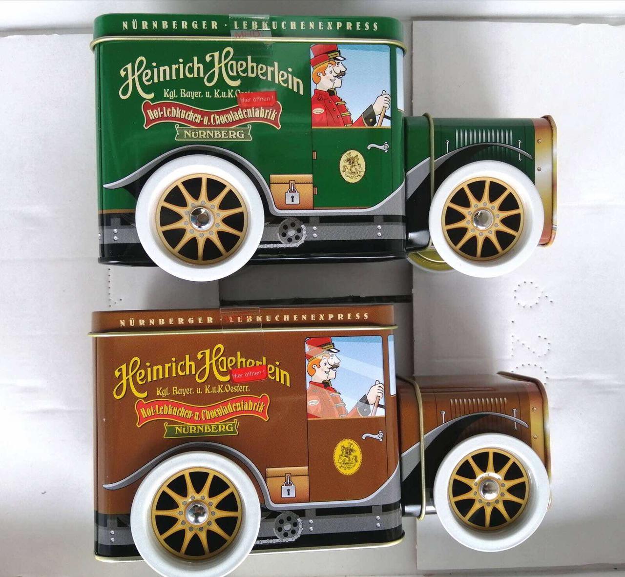 Музыкальная шкатулка в виде машинки HEINRICH HAEBERLEIN, 200 грамм