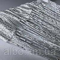 Нитевая тюль с люрексом 300x280 cm Белые (NL-7), фото 2