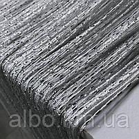 Нитевая тюль с люрексом 300x280 cm Белые (NL-7), фото 5