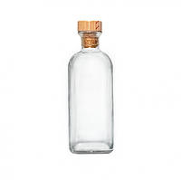 Пляшка Frasca 1л. з дерев'яною пробкою