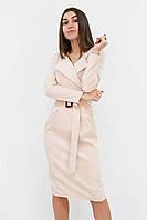 S, M, L, XL | Вишукане класичне жіноче плаття Mishell, бежевий