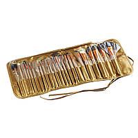 Набор кистей для макияжа 24 шт. (GIPS), Аксессуары