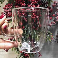 Чашки з подвійними стінками 400 мл