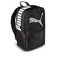 Рюкзак Puma черный стильный топовый портфель Пума практичный ранец сумка | ЛУЧШИЙ ВЫБОР!