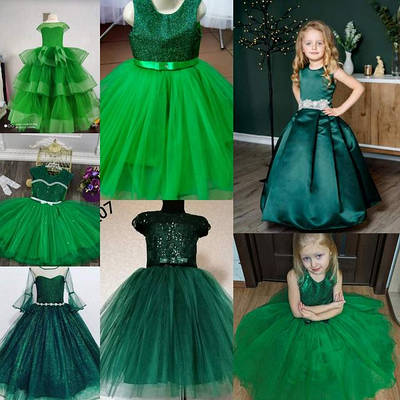 Зеленые платья Елочки