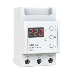 Реле контролю напруги ZUBR D16