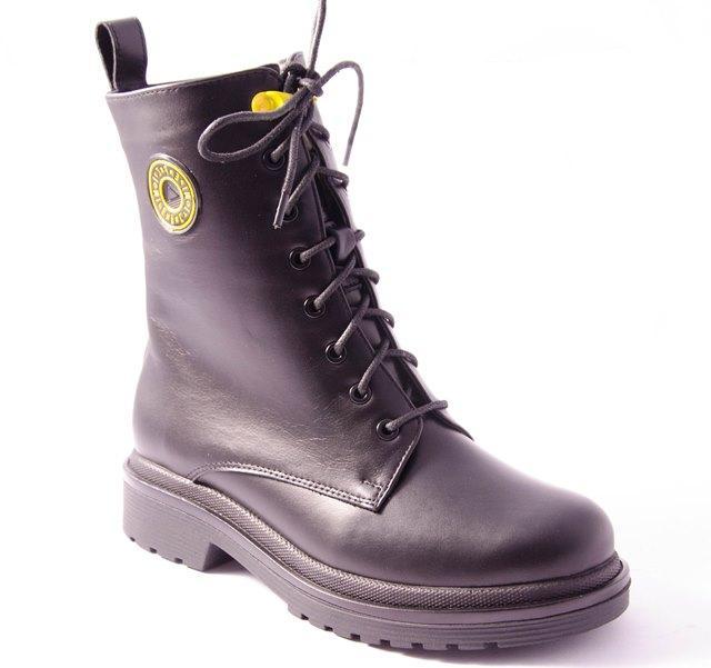 Ботинки женские черные Dixi 1250/04