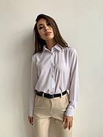 Базовая белая рубашка на каждый день, фото 1