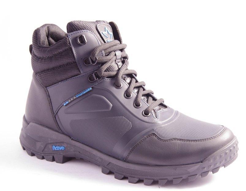 Ботинки мужские черные Mida 140189