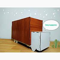 """Коробка у вигляді вантажівки для подарунків хлопчику. Коробка для подарков """"Автомобиль""""."""