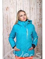 Женский горнолыжная куртка Avecs, голубой Р. 42
