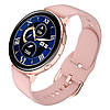 Умные часы Lemfo Q16 с измерением температуры (Розовый)