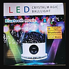 Диско шар LED Crysal Magic Ball Light BLUETOOTH Ночник, фото 2
