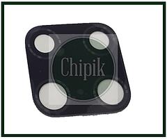 Стекло (окошко камеры) для Huawei Mate 20, черное