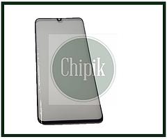 Стекло для переклейки дисплея Xiaomi Mi Note 10, черное