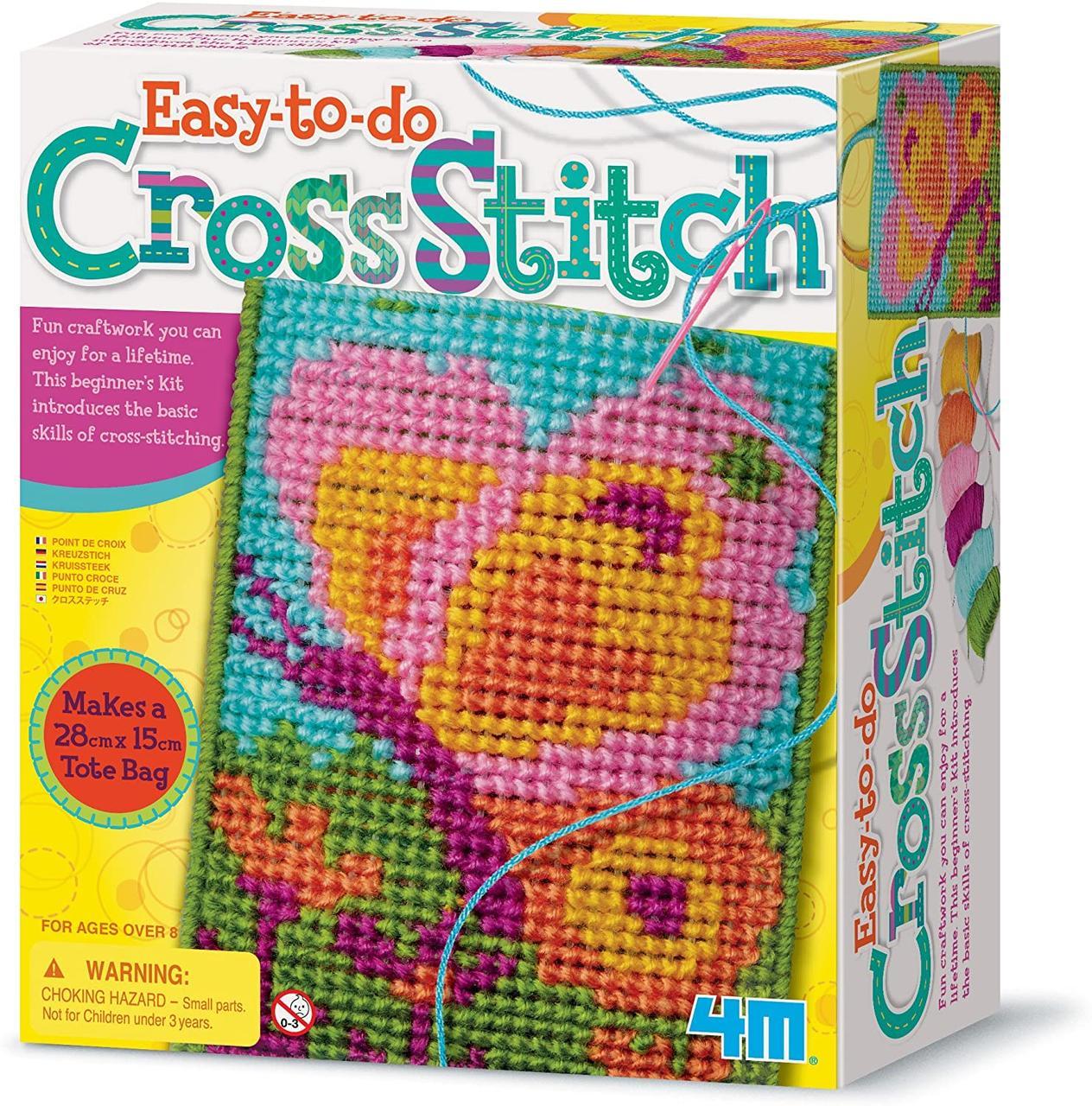 Набор для творчества Вышивание крестиком 4M 00-02749